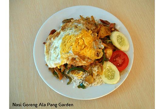 Menu Delivery Pang Garden