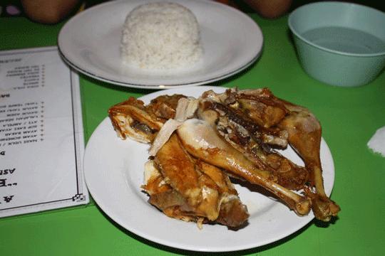 Menu Delivery Ayam Goreng Berkah Rachmat