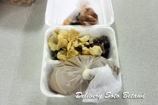 Menu Delivery Soto Betawi Haji Maruf