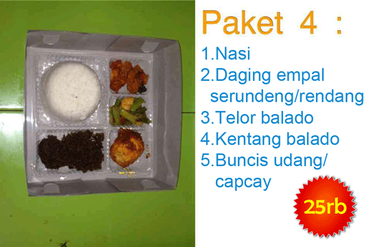 Menu Delivery Warteg Warmo