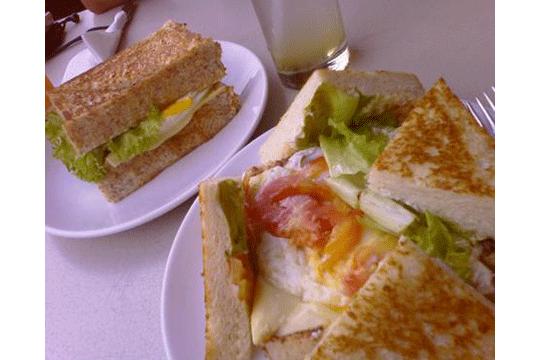 Menu Delivery Sandwich Bakar Pesanggrahan